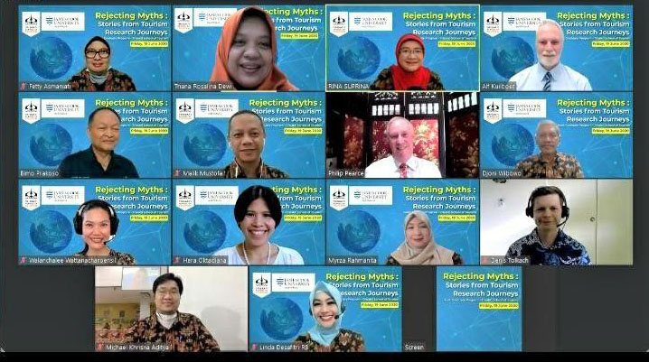 34 Negara Ikuti International Tourism Research Webinar  STP Trisakti